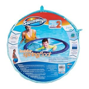 SwimWays Toddler Spring Float for Swimming Pool